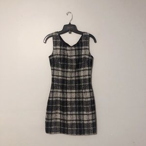 AUTH dolce and gabbana wool fitted dress
